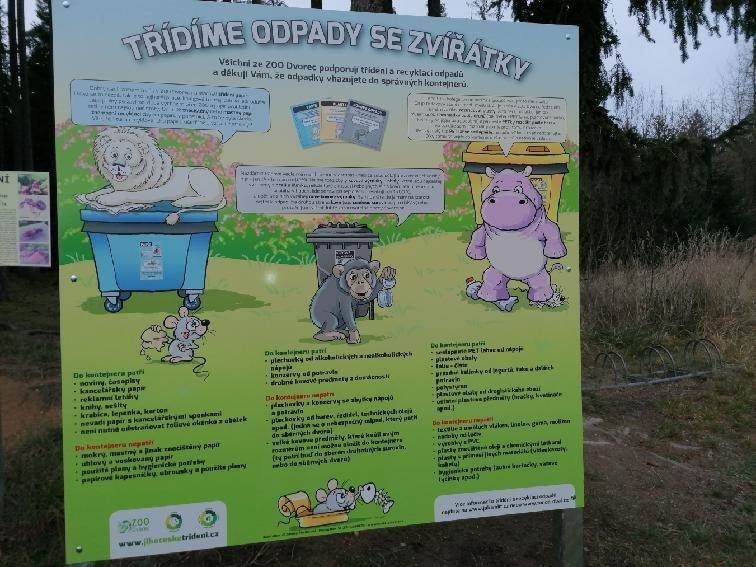 Naučte se třídit odpady se zvířaty