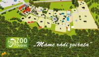Mapa jako suvenýr ze zoo