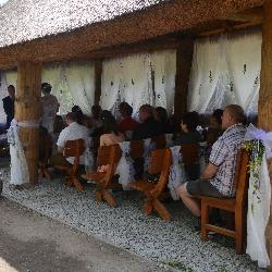 Svatební obřad v zoo