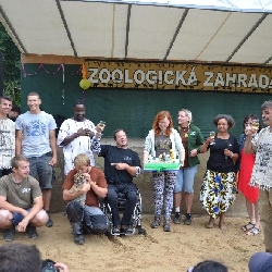 10 let zoo a křtiny tygříka